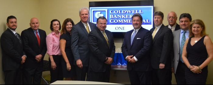 Coldwell Banker Commercial Worldwide President visits with Coldwell Banker Commercial ONE Realtors in Baton Rouge